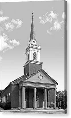 Chatham University Campbell Memorial Chapel Canvas Print by University Icons
