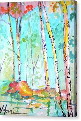 Chattahoochee River Walk Canvas Print
