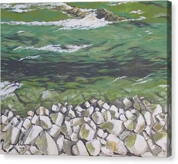 Chattahoochee Riverbank Canvas Print