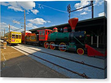 Chattanooga Choo Choo At The Creative Canvas Print by Panoramic Images