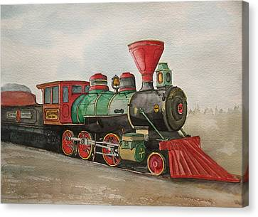 Chattanooga Choo-choo Canvas Print by Frank SantAgata