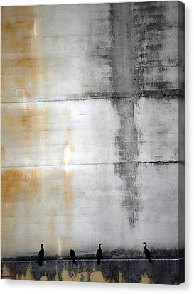 Chatter Of One  Canvas Print by Jerry Cordeiro
