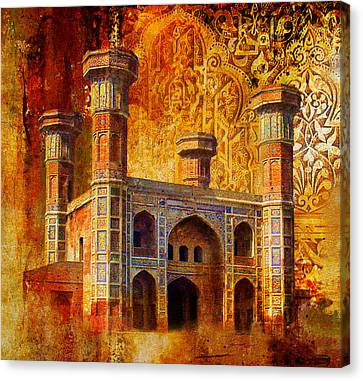 Chauburji Gate Canvas Print by Catf