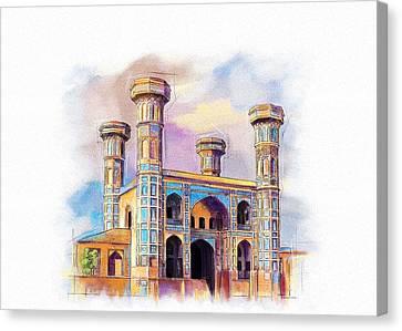 Chauburji Lahore Canvas Print by Catf