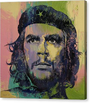 Che Guevara Canvas Print by Michael Creese