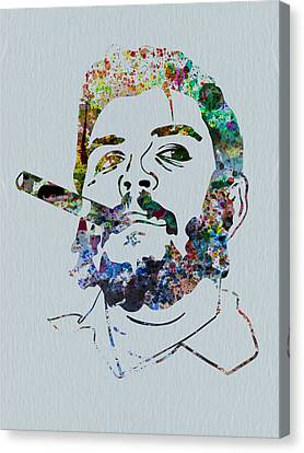 Che Watercolor Canvas Print