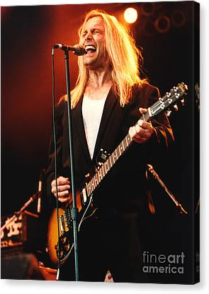 Cheap Trick-95-robin-2 Canvas Print by Gary Gingrich Galleries