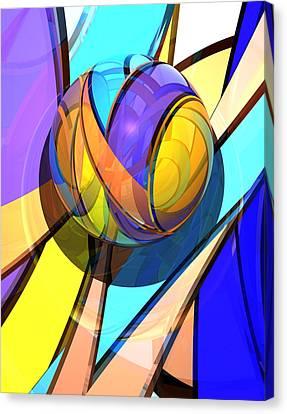 Check Barrels 35  Canvas Print