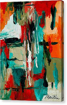 Check Canvas Print by Larry Martin