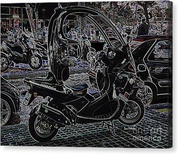 Check Out My Ride Canvas Print by Sue Melvin