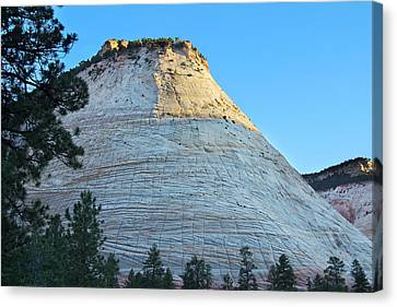 Checkerboard Mesa Canvas Print by Jemmy Archer