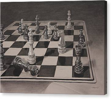 Checkmate Canvas Print by Christopher Reid