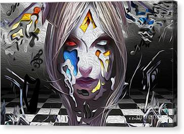 Checkmate-hd Canvas Print by Karl Emsley