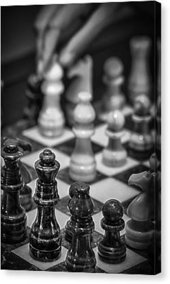 Checkmate Canvas Print by James Woody
