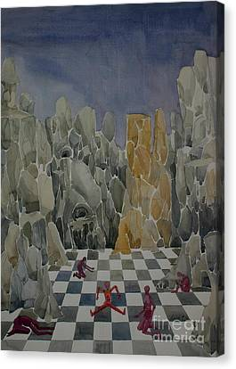 Checkmate Canvas Print by Lara Larson