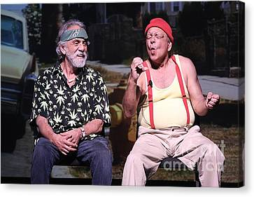 Cheech And Chong Canvas Print by Concert Photos