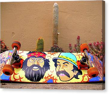 Cheech N Chong  Canvas Print by John King
