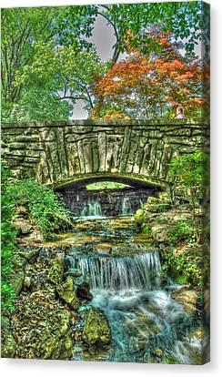 Cheekwood Bridge Canvas Print by Zachary Cox