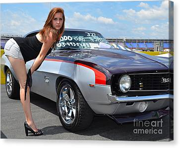 Cheeky Camaro Canvas Print