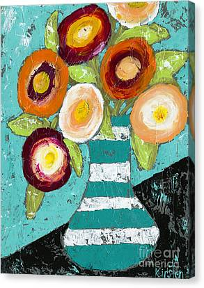 Cheerful Blooms Canvas Print
