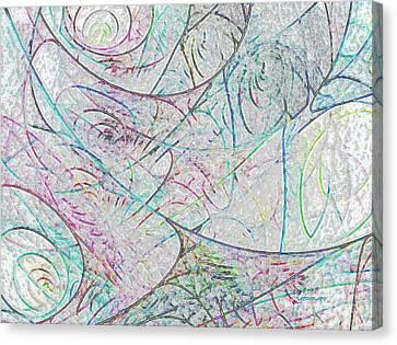 Cheerful Impression  Canvas Print by Tatjana Popovska