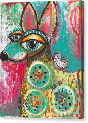 Cheerhuahua Canvas Print