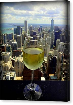 Cheers Chicago Canvas Print