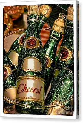 Cheers Canvas Print by Colleen Kammerer