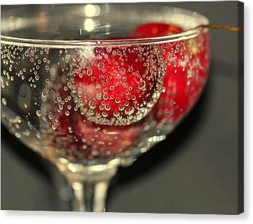 Cheers Canvas Print by Debbie Howden