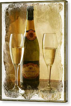 Cheers Canvas Print by Lucinda Walter