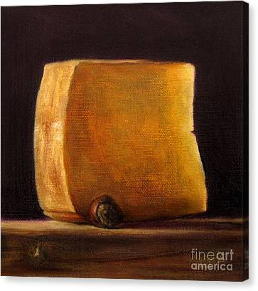 Cheese With Hazelnut Canvas Print