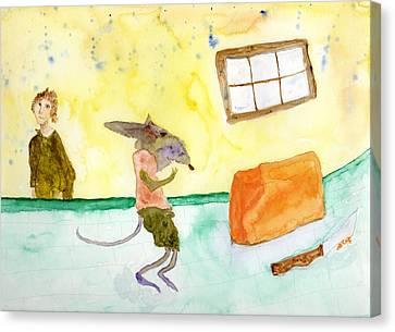 Cheeze Thief Canvas Print