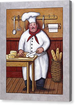 Chef 3 Canvas Print by John Zaccheo