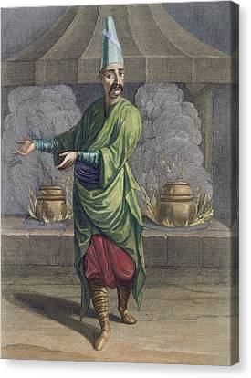 Chef To The Grand Seigneur, Topkapi Canvas Print by French School