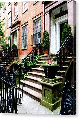 Chelsea Brownstone Canvas Print