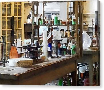 Chem Lab Canvas Print