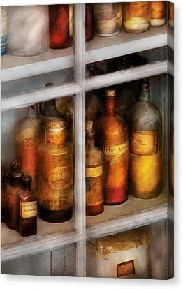 Chemist - Flavor Lab Canvas Print by Mike Savad