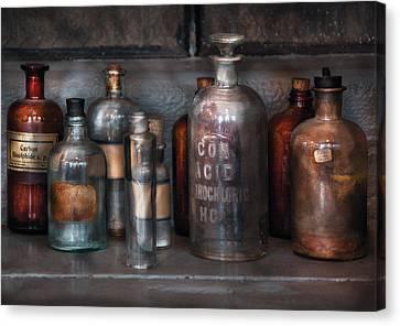 Chemist - Things That Burn Canvas Print by Mike Savad