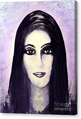 Cher Canvas Print by Alys Caviness-Gober
