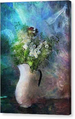 Cherished Rose From Summer Canvas Print by Georgiana Romanovna