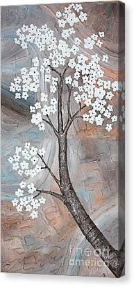Cherry Blossom Canvas Print by Home Art