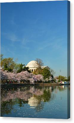 Memorial Canvas Print - Cherry Blossoms 2013 - 098 by Metro DC Photography