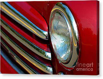 Canvas Print featuring the photograph Cherry Chrome by Christiane Hellner-OBrien
