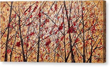 Cherry IIi Canvas Print by Angel Ortiz
