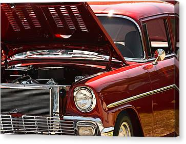 Canvas Print featuring the photograph Cherry Red by Tammy Schneider