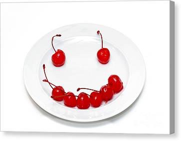 Cherry Smile Canvas Print