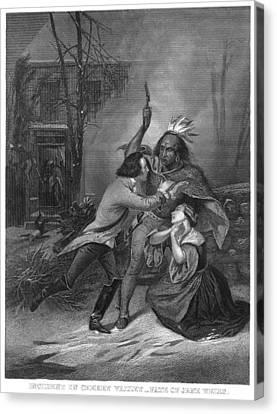 Cherry Valley Massacre Canvas Print