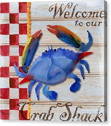 Chesapeake Crab Canvas Print by Paul Brent