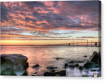 Chesapeake Splendor  Canvas Print by JC Findley