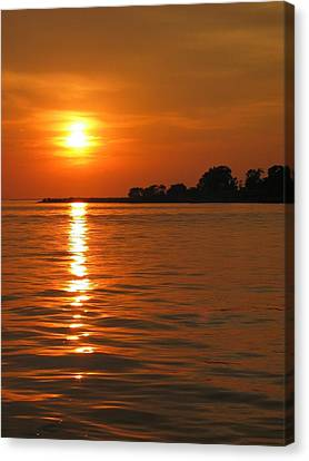 Chesapeake Sun Canvas Print by Photographic Arts And Design Studio